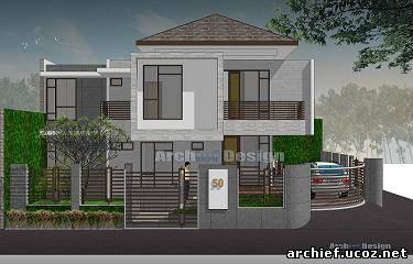 Rumah Milimalis on Depan Rumah Minimalis   Desain Rumah Minimalis Depok   Desain Rumah