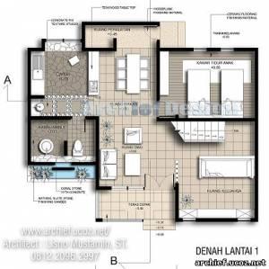 Desaian Rumah on Denah Rumah Mungil   Desain Rumah Mungil Jakarta   Desain Rumah