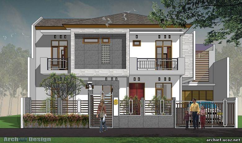 Desain Rumah Minimalis Cimahi