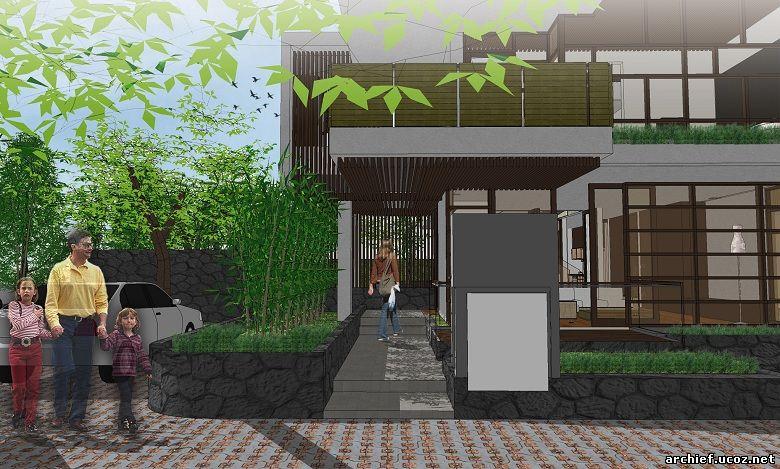 Desain Rumah Minimalis Puri