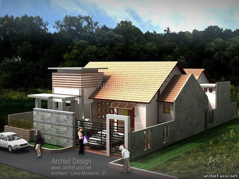 Desain Rumah Minimalis Ternate